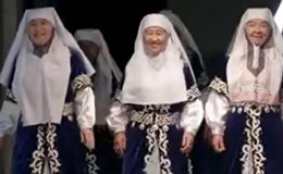 Ансамбль казахских бабушек Лебеднок покорил китайское шоу