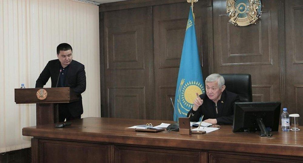 Аким Актюбинской области Бердыбек Сапарбаев