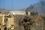 Захваченный боевиками отель в Кабуле