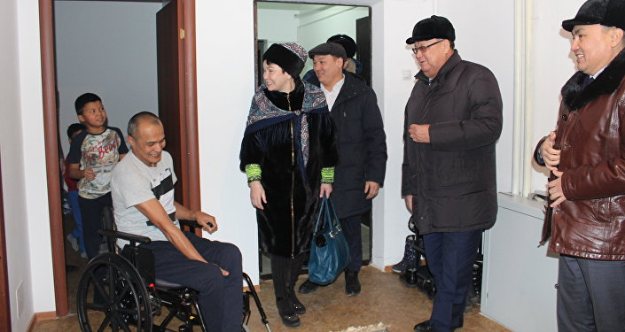 Кокшетаусцу Еркину Габбасову подарили квартиру