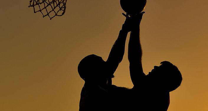 Баскетбол, архивное фото