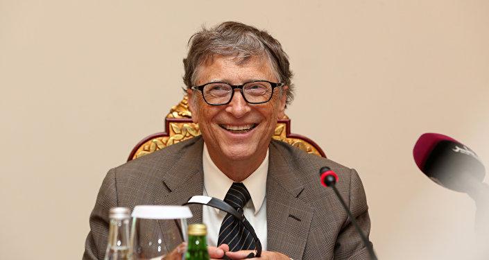 Основатель компании Microsoft Билл Гейтс , архивное фото