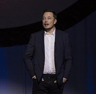 Глава американской компании SpaceX и Tesla Илон Маск, архивное фото
