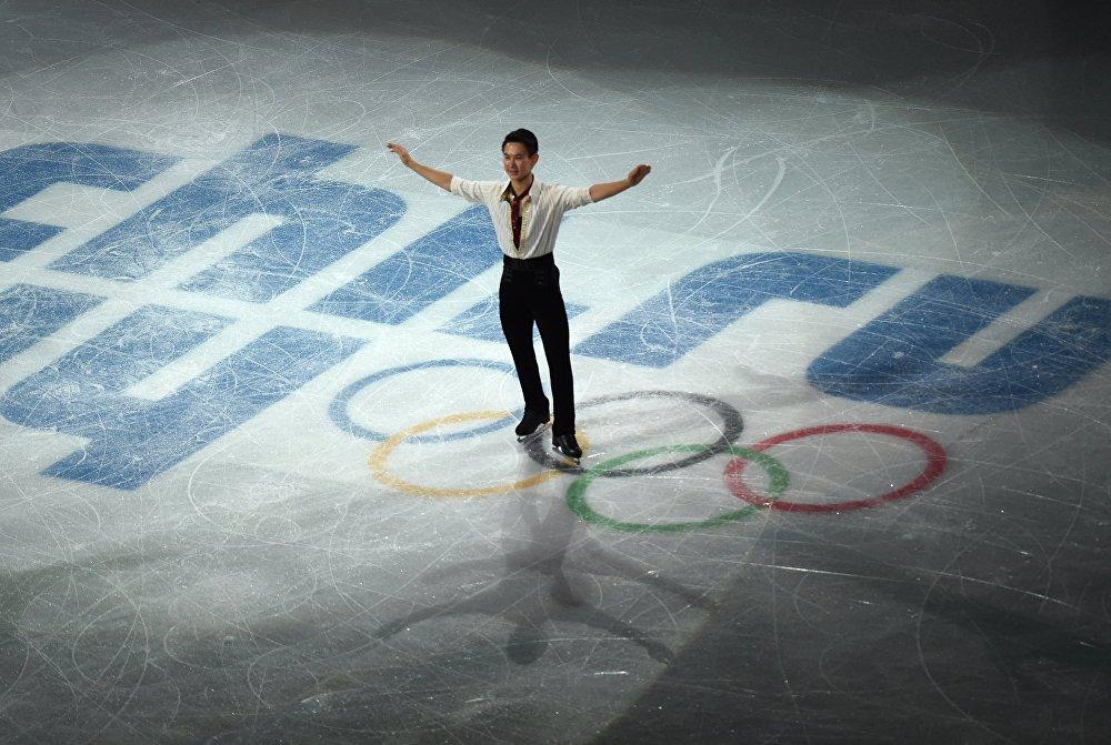 Денис Тен на XXII зимних Олимпийских играх в Сочи, архивное фото