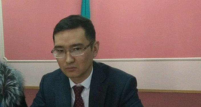 Директор департамента транспортного контроля ТОО Астана LRT Самат Шаймерденов