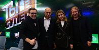 Вадим Такменев, Игорь Крутой, Юлианна Караулова и Виктор Дробыш