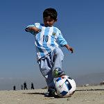 Афганский мальчик Муртаза Ахмади
