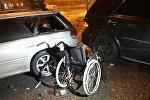 Шесть автомобилей столкнулись в Алматы