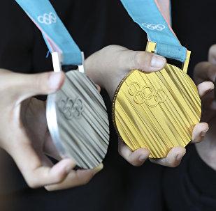 Медали Олимпиады-2018