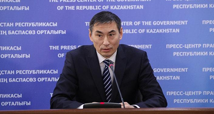 Первый заместитель министра сельского хозяйства Казахстана Арман Евниев