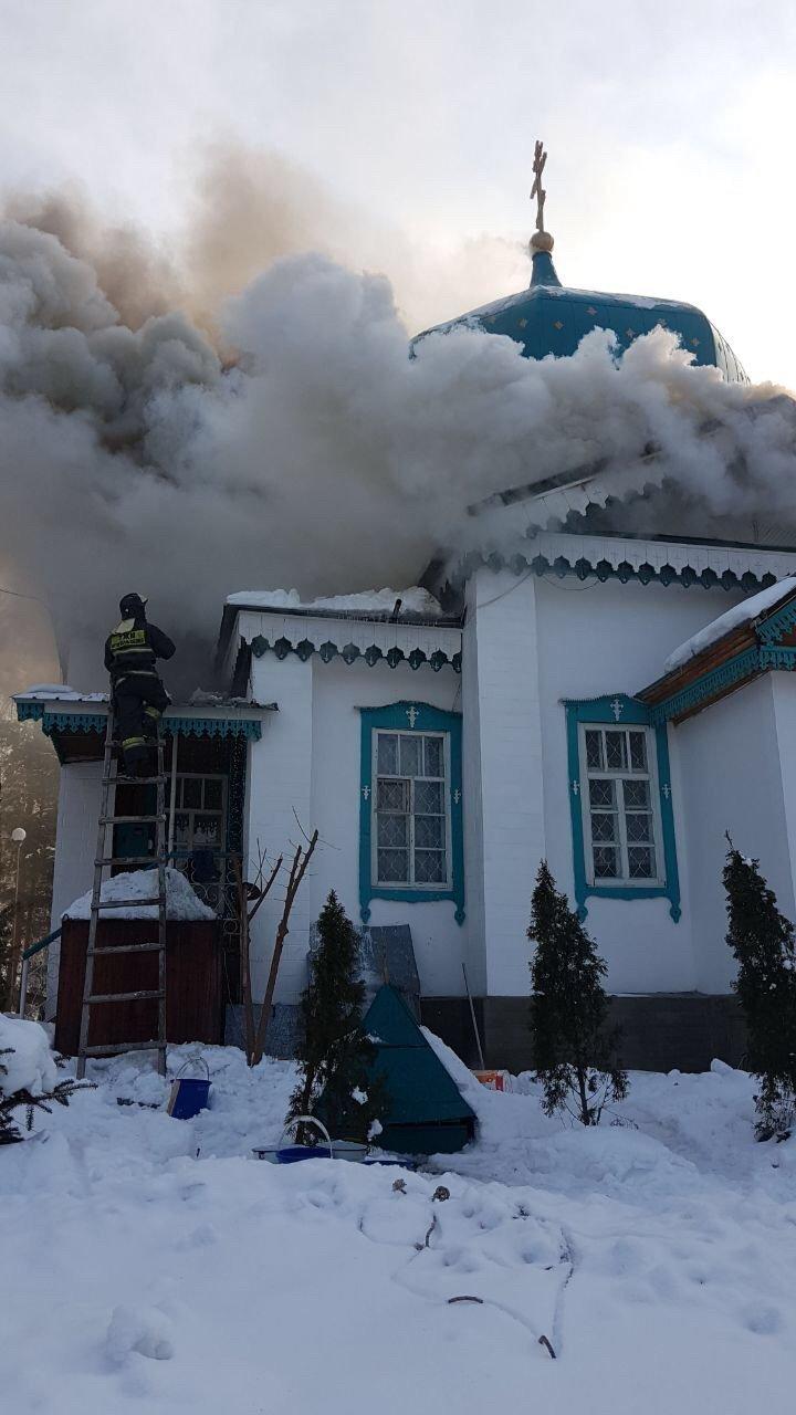 Алматы облысында шіркеу ғимараты өртенді