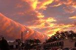 Необычное облако над Виргинией