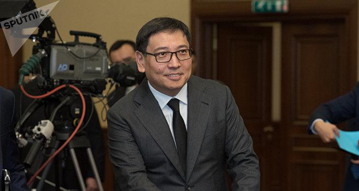 Ерболат Досаев - заместитель премьер-министра