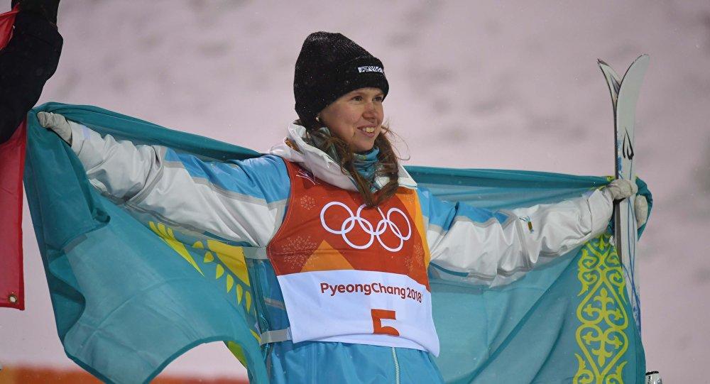 Казахстанская спортсменка Юлия Галышева завоевала бронзовую медаль на Зимних Олимпийских играх в Пхенчхане 2018