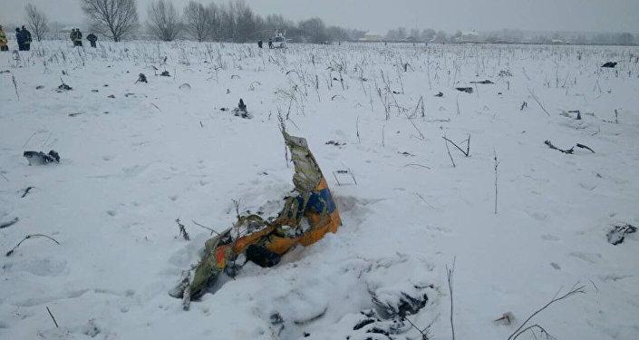 Ан-148 ұшағы апатқа ұшыраған жер