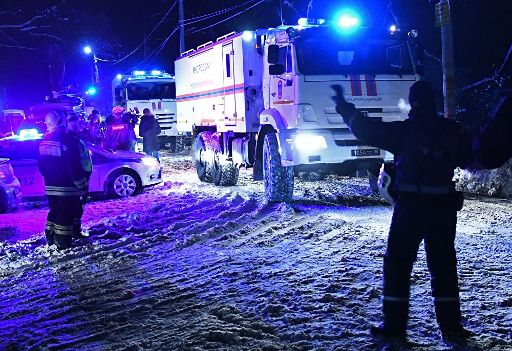 Крушение пассажирского самолета в Московской области