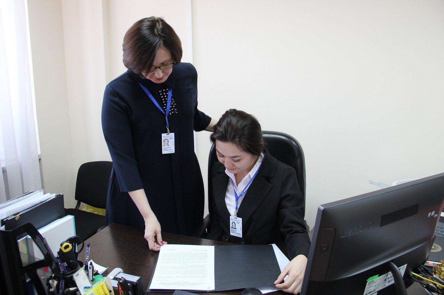 Сотрудники АДГСПК с ID-картами
