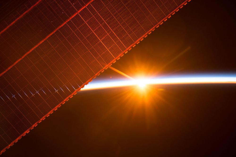 Снимки Международной космической станции