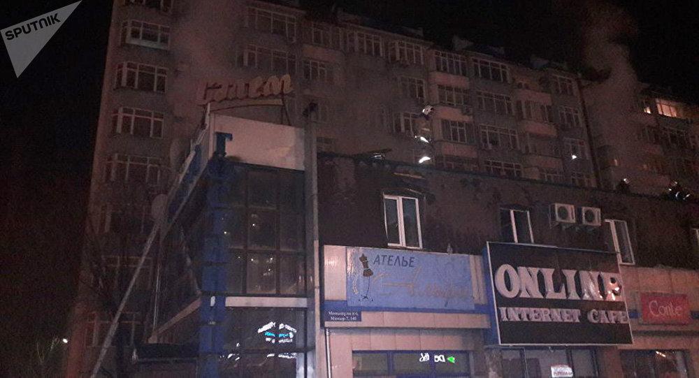 Пожар в гостинице Салем