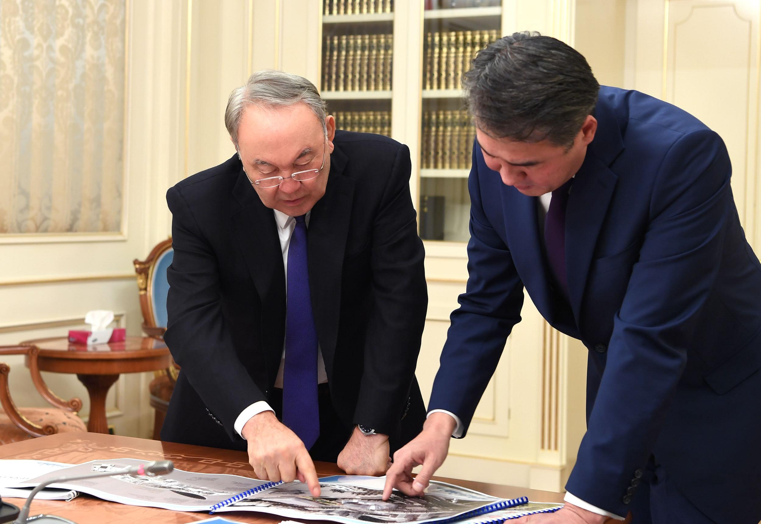 Президент Нурсултан Назарбаев встретился с акимом Астаны Асетом Исекешевым
