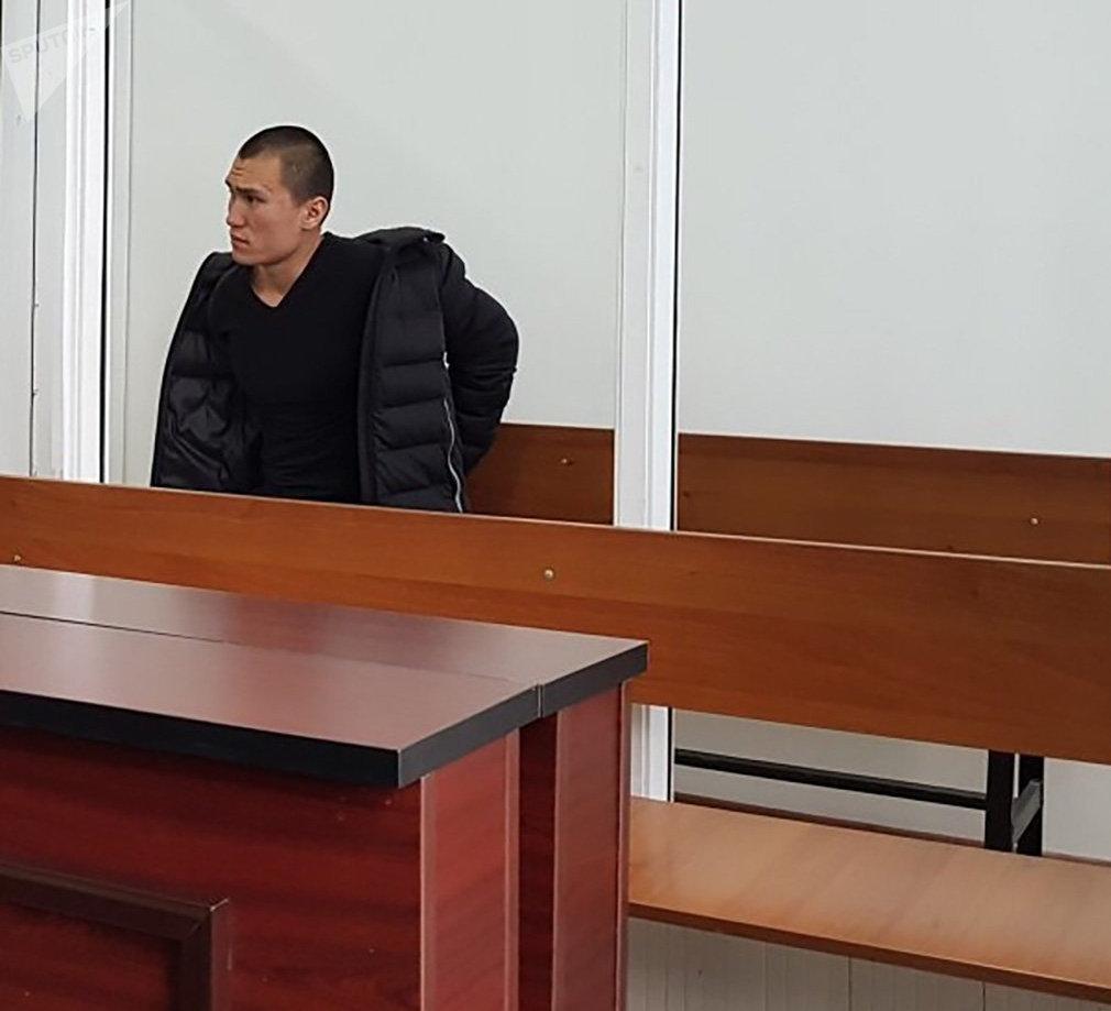 Даурен Алеуханов на скамье подсудимых