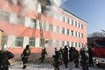 Детский дом загорелся в Астане
