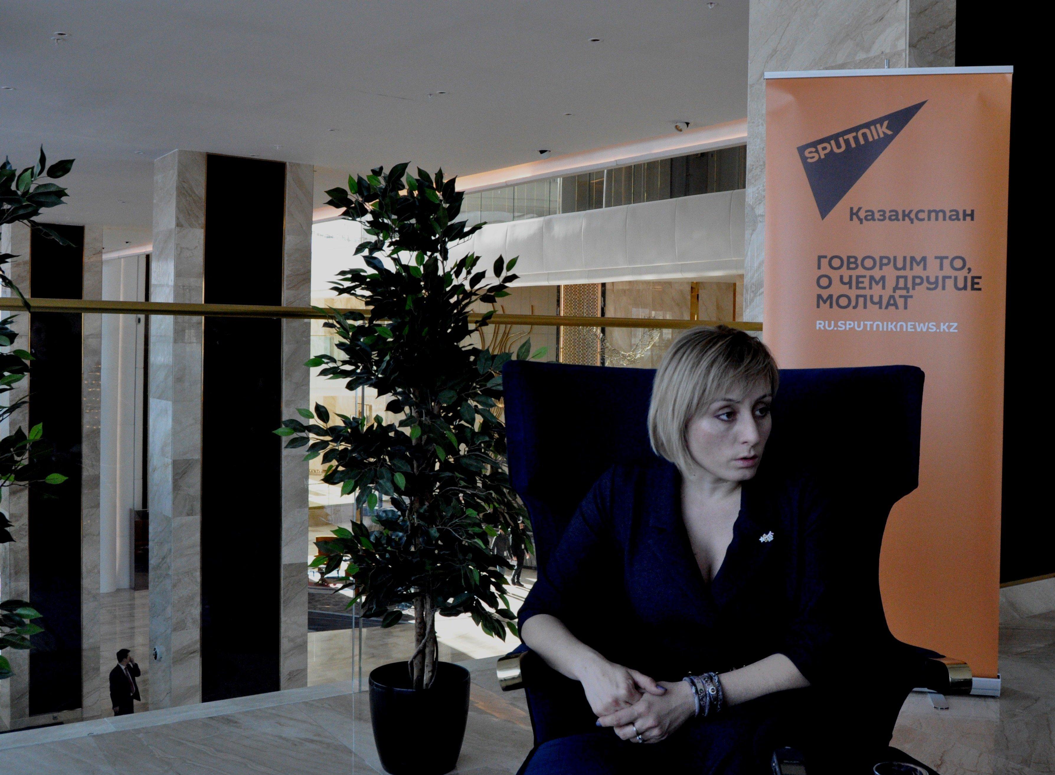 Руководитель фонда Коргау Астана Анна Рыль