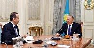 Нұрсұлтан Назарбаев пен Кәрім Мәсімов