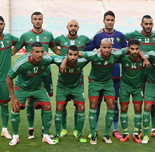 Сборная Марокко по футболу, архивное фото