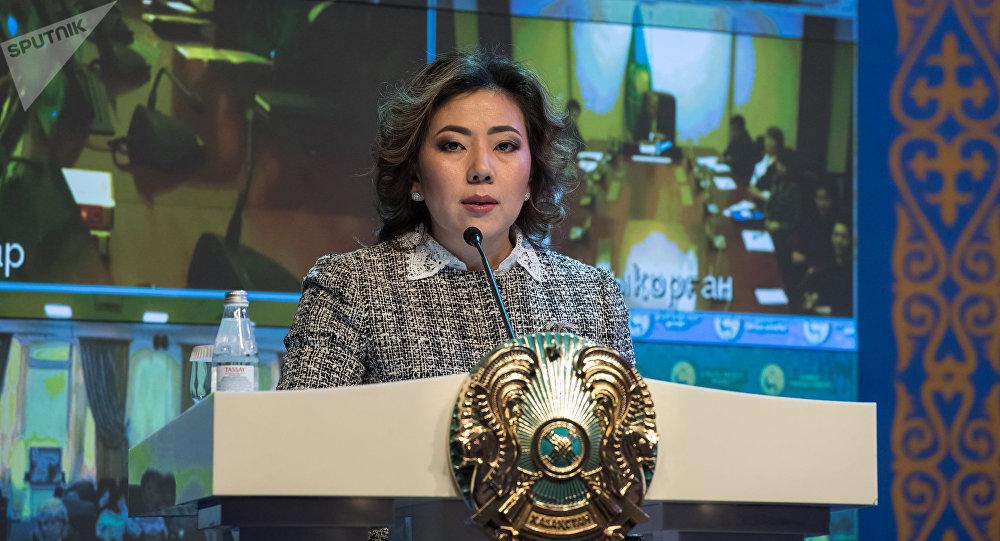 ҚР Еңбек және халықты әлеуметтік қорғау министрі Мәдина Әбілқасымова