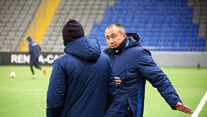 Главный тренер ФК Астана Станимир Стойлов