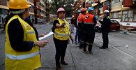 Ситуация после землетрясения в Мексике