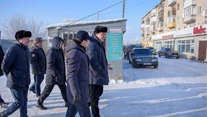 Асет Исекешев в Промышленном