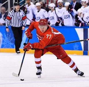 Сборная Россия по хоккею обыграла команду США в своем заключительном матче группового этапа на Олимпийских играх-2018 в Пхенчхане