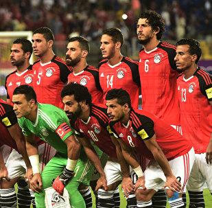 Игроки сборной Египта