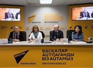 Пресс-конференция о запуске акции по сбору асыков среди казахстанцев