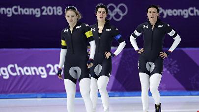 Форма олимпийской сборной США по конькобежному спорту вызвала неоднозначную реакцию у пользователей соцсетей