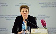 Директор департамента политики общественного здравоохранения Министерства здравоохранения РК Айжан Есмагамбетова