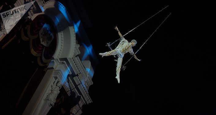 Цирковое шоу, архивное фото