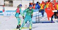 Казахстанские лыжницы на Олимпиаде в Пхенчхане