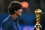 Йоахим Лев – наставник сборной Германии. Под его руководством сборная выиграла чемпионат мира в Бразилии в 2014 году