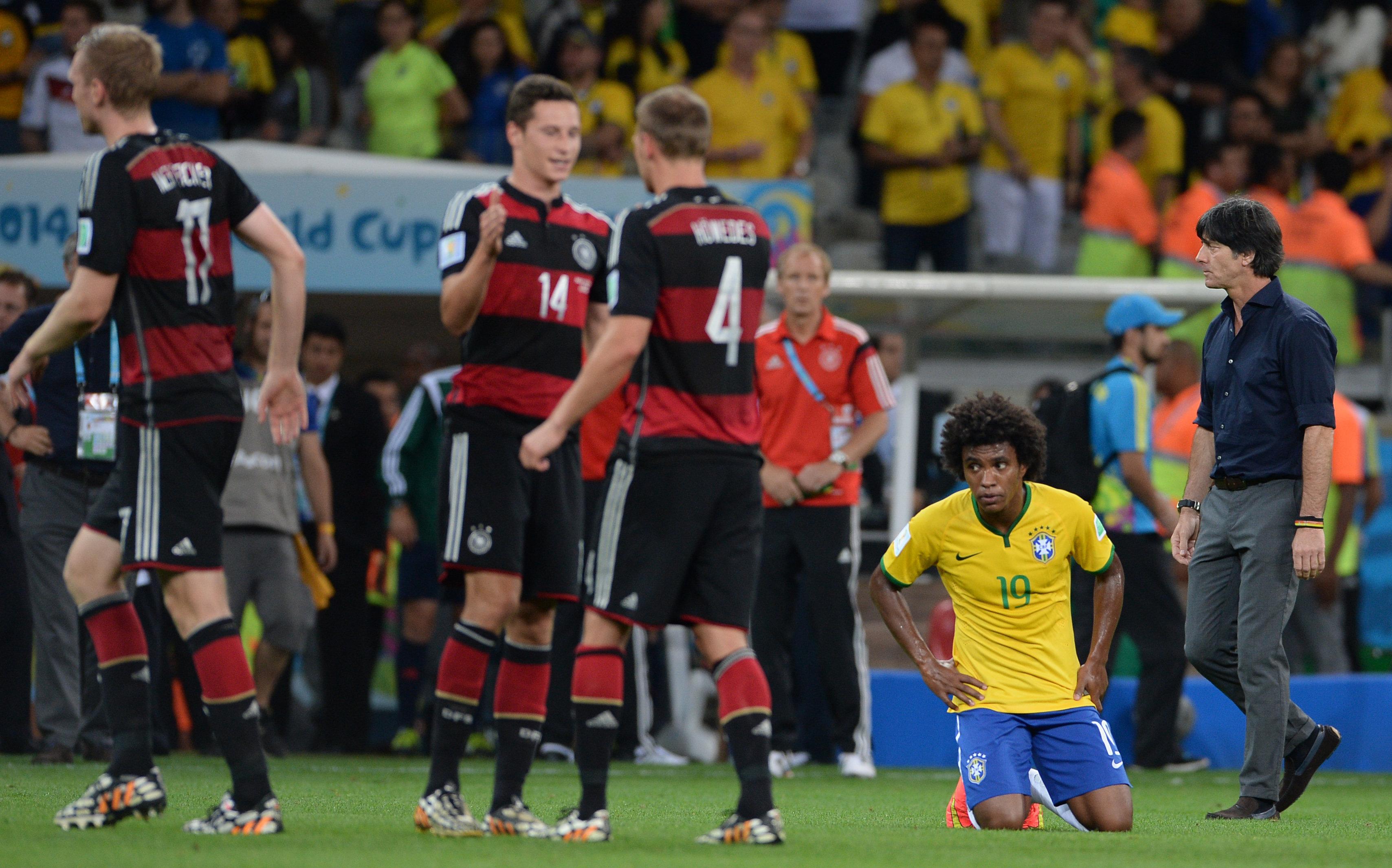 Самое унизительное поражение в своей истории – 1:7 – бразильцы потерпели от сборной Германии в полуфинале домашнего мундиаля