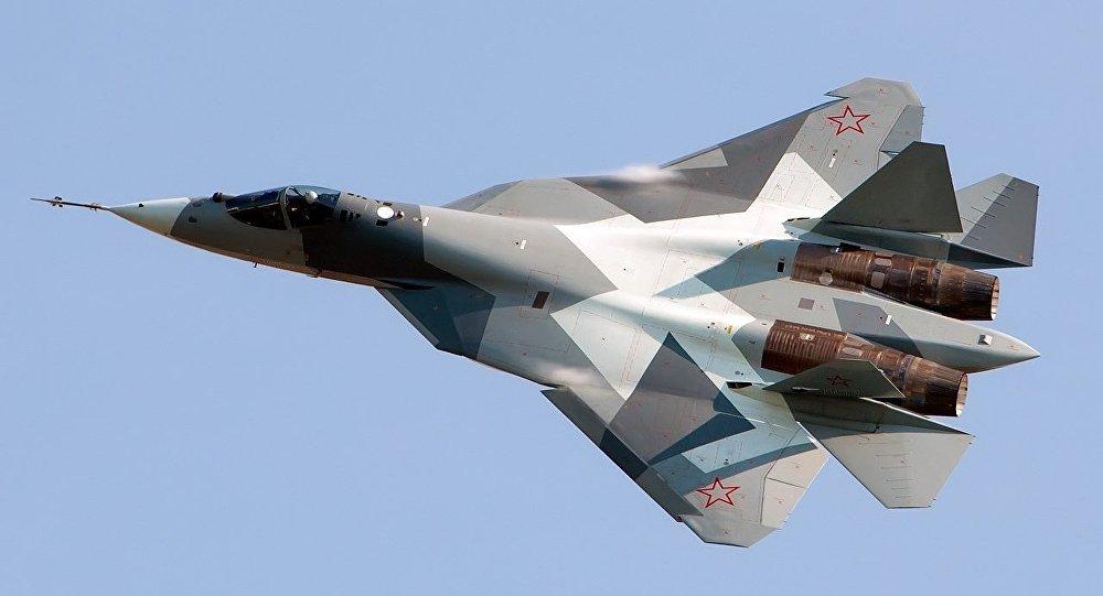 Су-57 ұшағы, архивтегі сурет