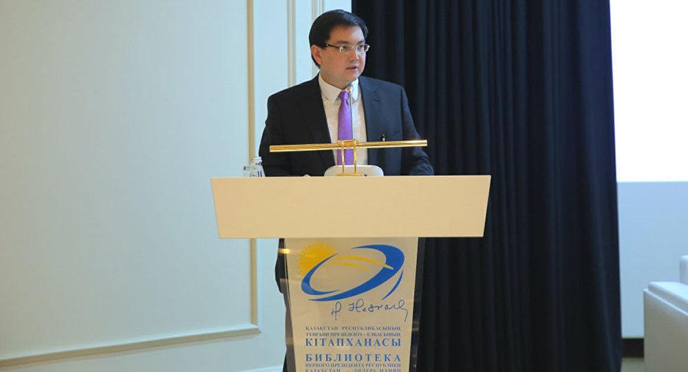 Директор библиотеки президента (Назарбаев центр) Тимур Шаймергенов