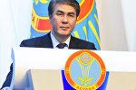 Аким Астаны Асет Исекешев на отчетной встрече