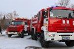 Пожарный автомобиль, архивное фото