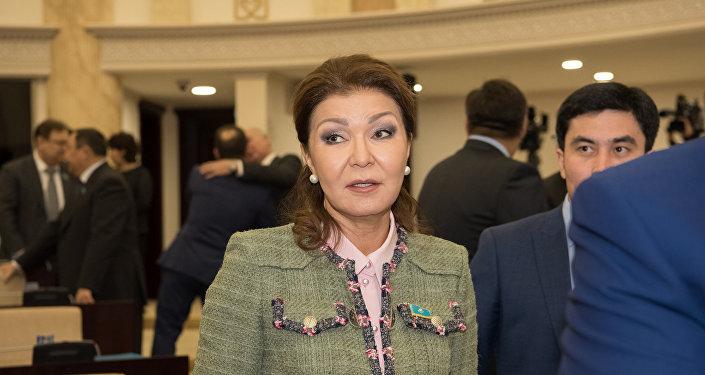 Председатель комитета по международным отношениям, обороне и безопасности сената парламента Казахстана Дарига Назарбаева