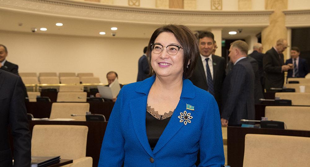 Сенатор Бірғаным Әйтімова