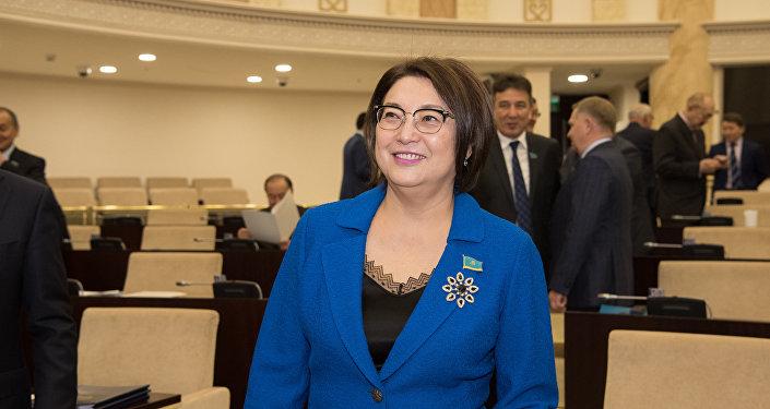 Сенат депутаты Бірғаным Әйтімова