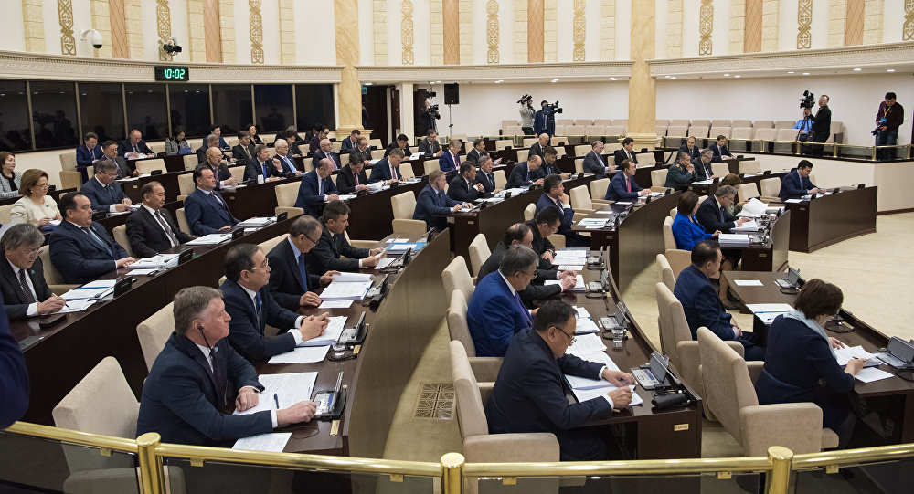 ҚР парламенті сенатының отырысы